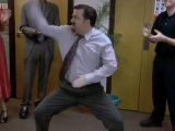 A David Brent tánc - The Office - BBC