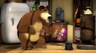 Mása és a medve - Farkasokkal táncoló