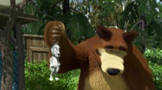 Belépni tilos - Mása és a medve