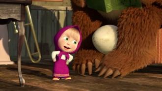 Mása és a medve- A talált gyermek