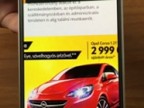 Opel tiltorama @ Index app