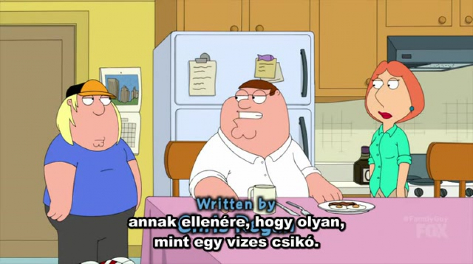 Family Guy 15. évad 1. rész (feliratos)