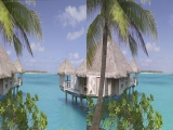 Sharp 3D Demo - Bora Bora Island - 1080P Side...