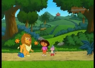 Dóra és Leon a cirkuszi oroszlán
