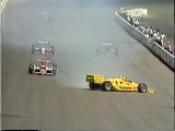 Indycar/CART 1988, Phoenix: Mears crash...