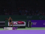 Ivanovic vs. Halep, 2014 WTA Finals - egy...