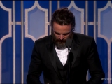 Casey Affleck Best Actor The Golden Globes 2017