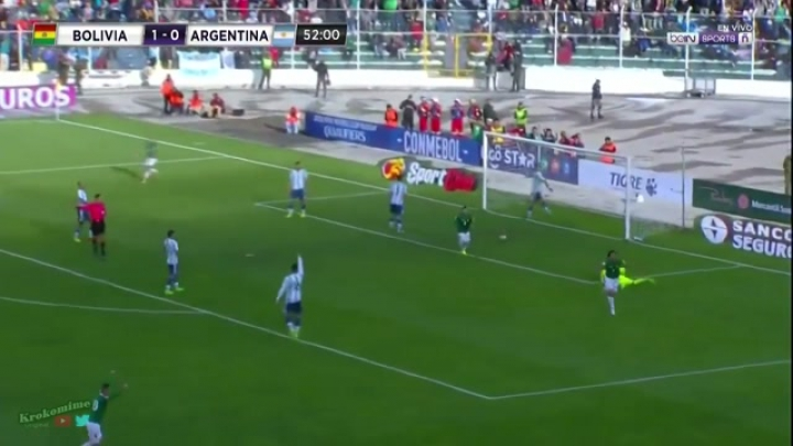 BOLIVIA vs. ARGENTINA (2:0) 2018 FIFA World Cup Qualifiers - All Goals