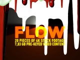 Flow - Stock video footage pack