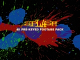 Splash - Stock footage video pack