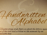 Handwritten Alphabet - Stock animated text pack