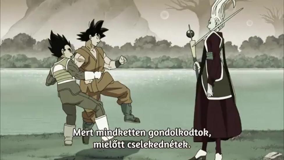 Dragon Ball Super 1. évad 116. rész magyar felirattal