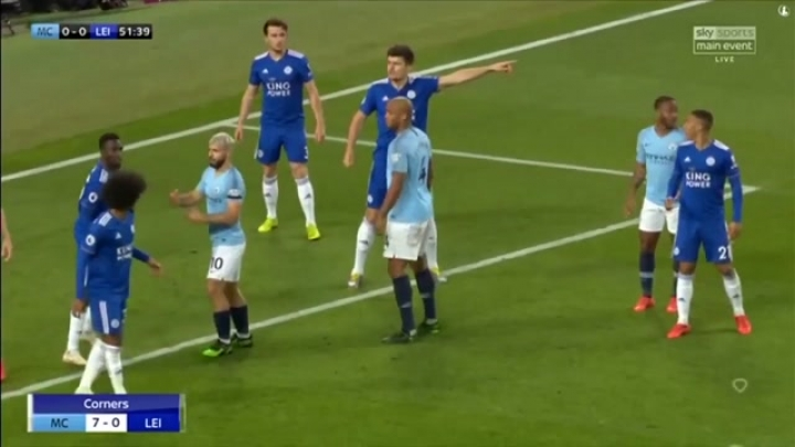 Manchester City-Leicester City 1-0