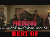 The Predator (2018) Audiokommentár BEST OF