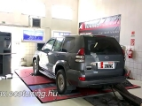 Toyota Land Cruiser 3.0D4D 166LE Chiptuning...